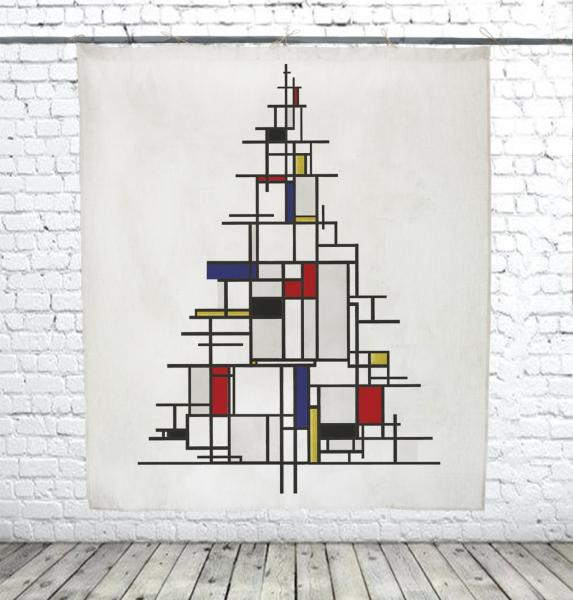 Christmas Tree / Piet Mondrian