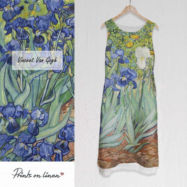 Long dress / Irises