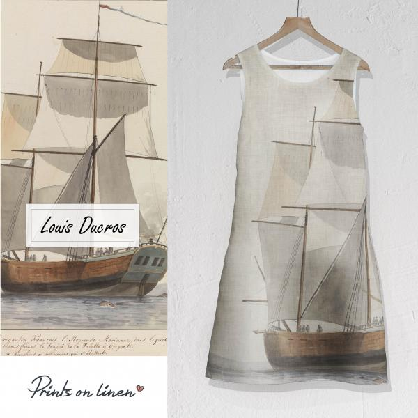 Linen dress  / Louis Ducros