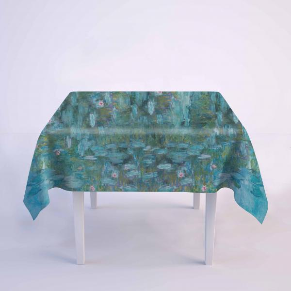 Tablecloth / Water Lilies