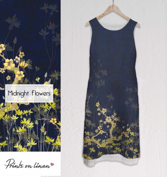 Long dress / Midnight Flowers