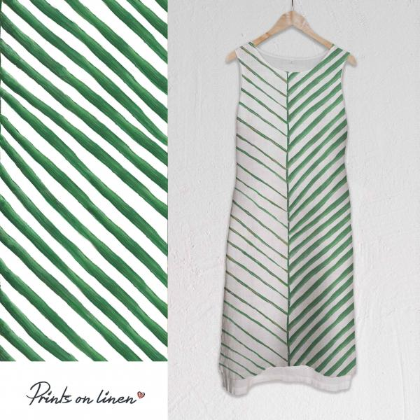 Long dress / Green Leaf