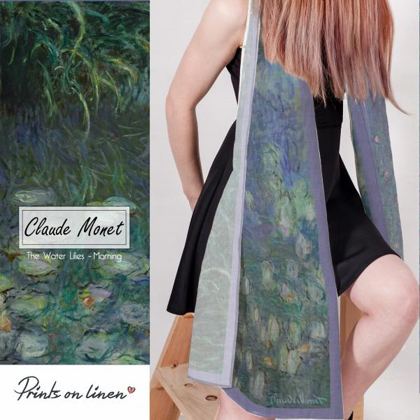 Lina scarf / The Water Lilies