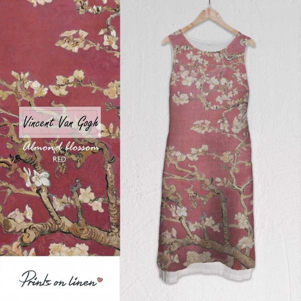 Long dress / Almond Blossom (red)
