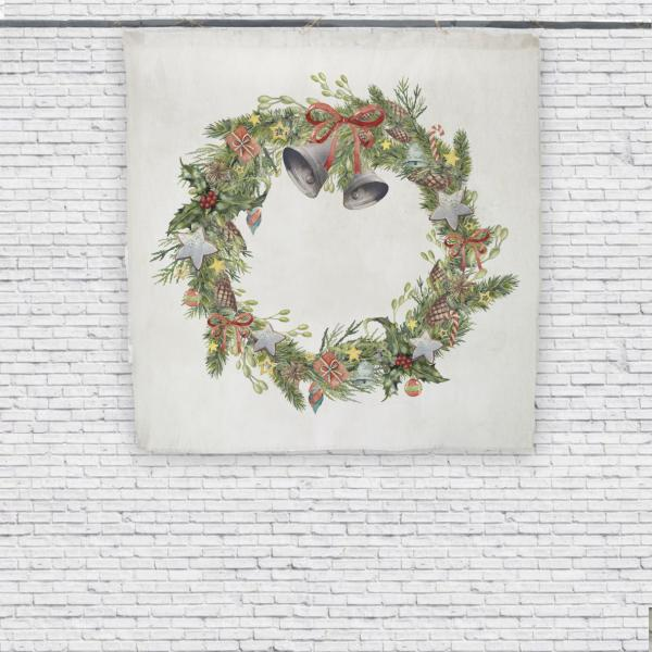 Wall tapestry / Wreath with Candies