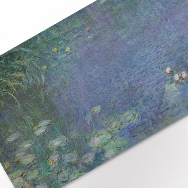 Table runner / The Water Lilies - Morning