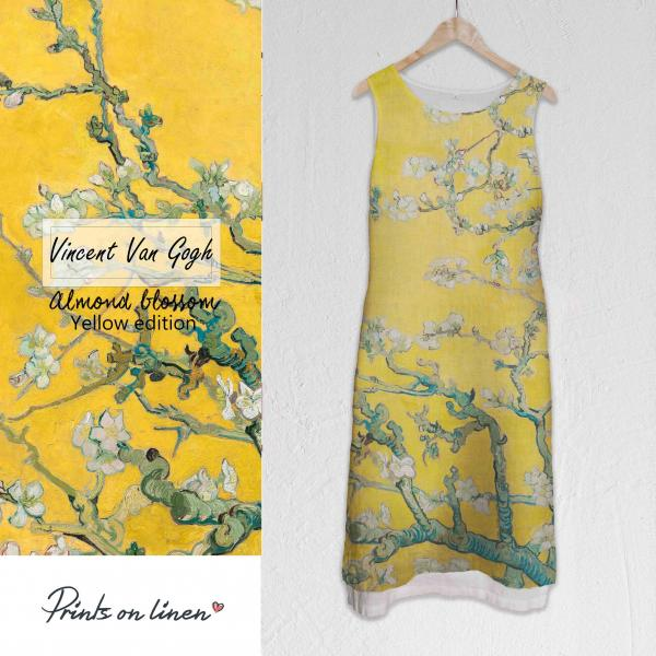Long dress / Almond Blossom (Yellow)