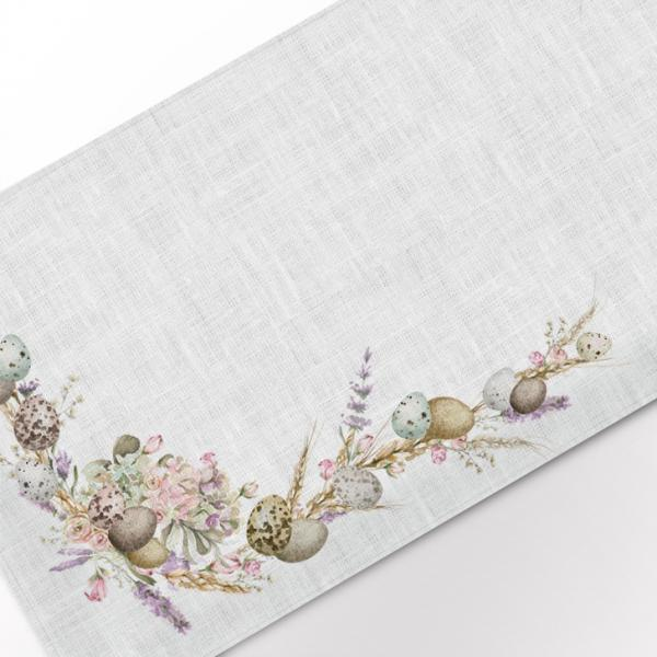 Table runner / Easter and Lavenders